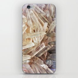 Sparkly Clear Magical Unicorn Crystal Shards iPhone Skin