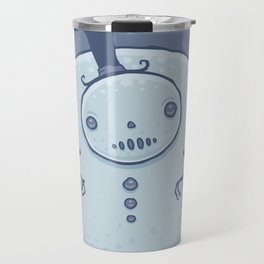 Pudgy Snowman Travel Mug