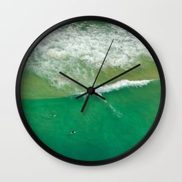 Surfing Day V Wall Clock