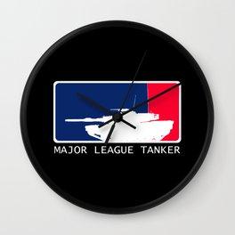 M1 Abrams - Major League Tanker Wall Clock