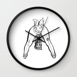 Horsabbit Wall Clock