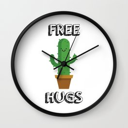 Free Hugs for All! Wall Clock