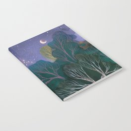 Starlit Woods Notebook