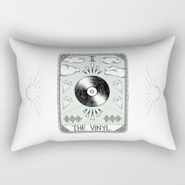 The Vinyl Rectangular Pillow
