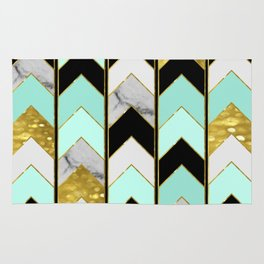 Chevron Lights Rug