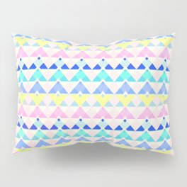 Retro chevron Pillow Sham