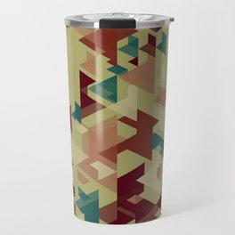 Bunch of shapes Travel Mug