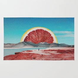 Grapefruit Beach Rug