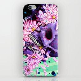 Pushing Up Daisies painting iPhone Skin