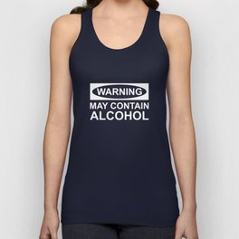 May Contain Alcohol Unisex Tank Top