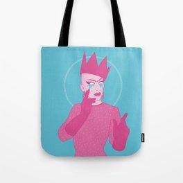 Sasha Velour Tote Bag