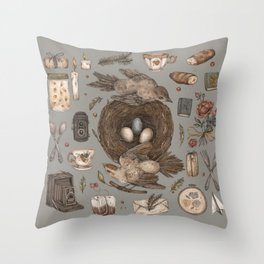 Share Throw Pillow
