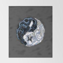 Snake Eyes/Storm Shadow  Throw Blanket