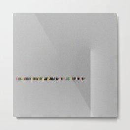 PiXXXLS 424 Metal Print