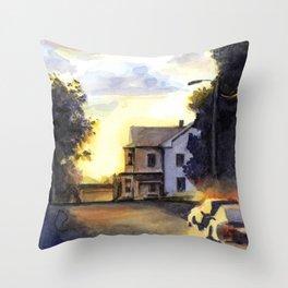 Pittsfield, Massachusetts Throw Pillow