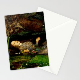 "John Everett Millais ""Ophelia"" Stationery Cards"
