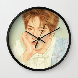 poetic beauty [jaehyun nct] Wall Clock