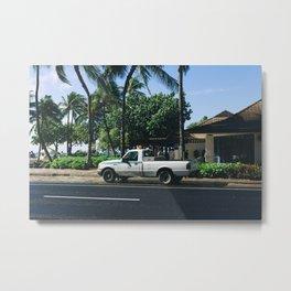 car 01 Metal Print