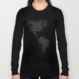 Binary America Long Sleeve T-shirt
