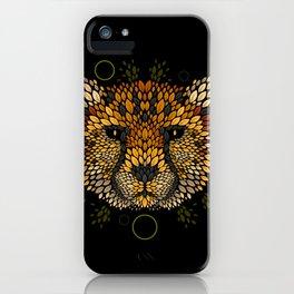 Cheetah Face iPhone Case