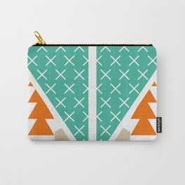 Winter shapes Carry-All Pouch
