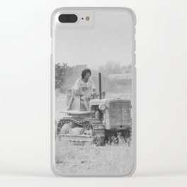 Malta 1994 Agriculture at the plow Clear iPhone Case