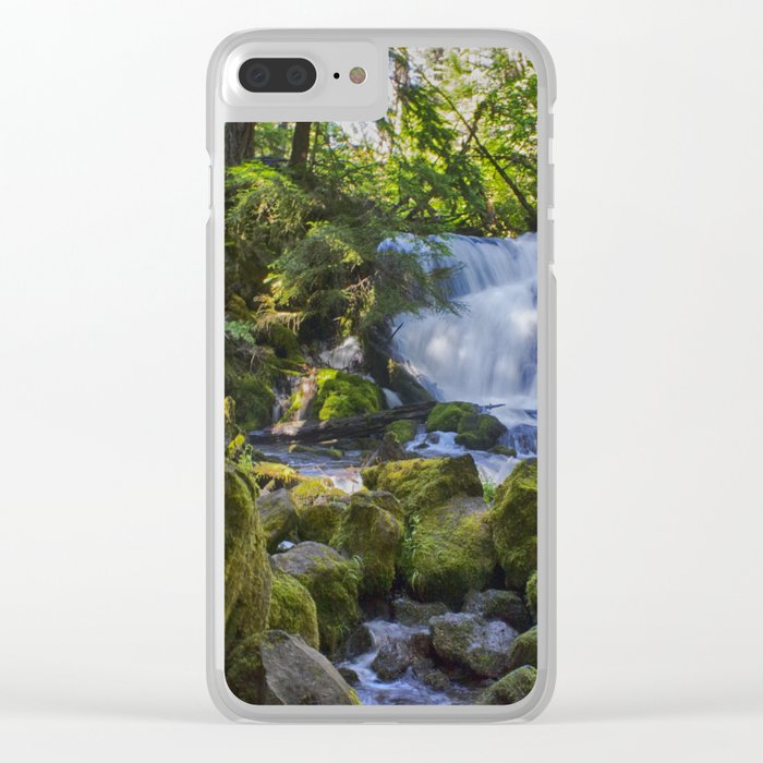 Pearsoney Falls - Prospect, OR Clear iPhone Case