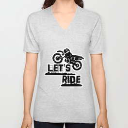 Wanna Ride? Unisex V-Neck