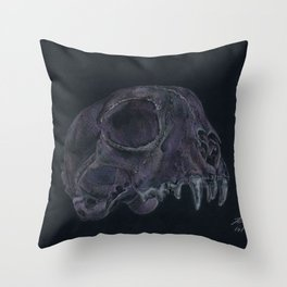 Mr. Bitey Throw Pillow