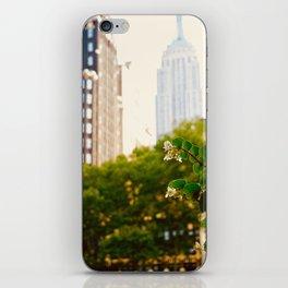 NY Bloom iPhone Skin