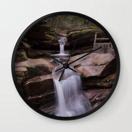 Sabbaday Falls Wall Clock