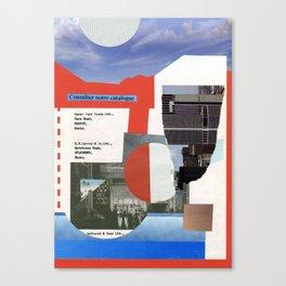 catalogue Canvas Print