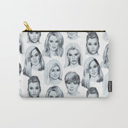 Keeping Up Pattern Carry-All Pouch
