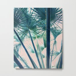 Tropical Palm #society6 #buyart #home #lifestyle Metal Print