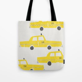 New York Taxicab Tote Bag