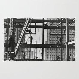 Steel workers New York City Rug