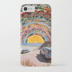 Orange sunset iPhone 7 Slim Case