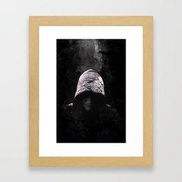 Victorian Assassin Hood - Color Framed Art Print
