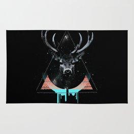 The Blue Deer Rug