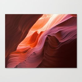 The Waves of Antelope Canyon Canvas Print