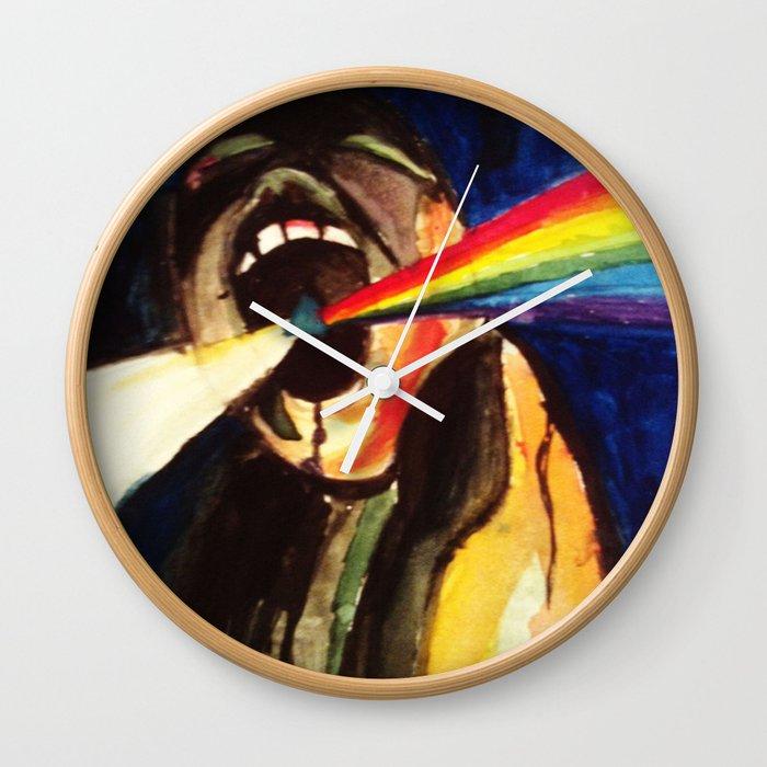 Scream Pink Floyd Wall Clock by annifox