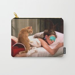 Audrey Hepburn #4 @ Breakfast at Tiffany's Carry-All Pouch