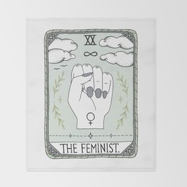 The Feminist Throw Blanket