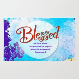 Blessed! Rug