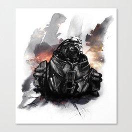 Forgive the insubordination - Galaxy Canvas Print