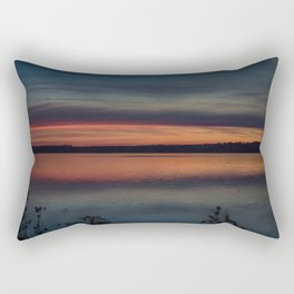 Another colorful morning Rectangular Pillow