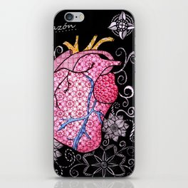 blackheart iPhone Skin