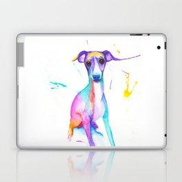 June (The Italian Greyhound) Laptop & iPad Skin