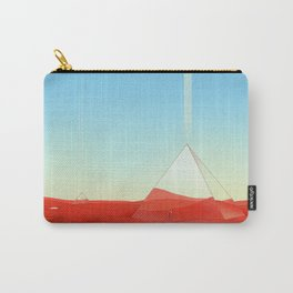 Mirror Pyramids Carry-All Pouch