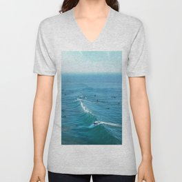 Huntington Beach Unisex V-Neck